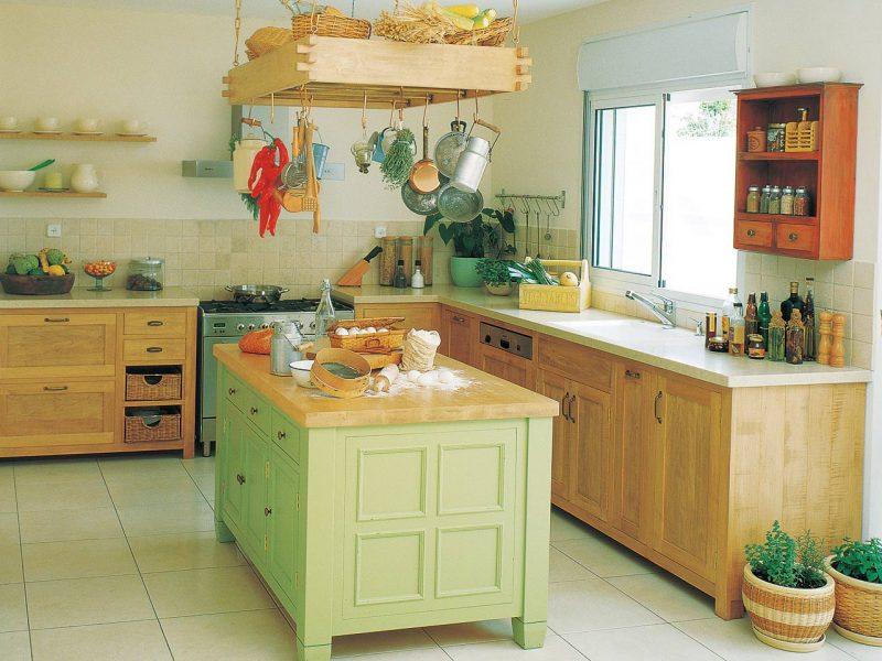 מטבחים כפריים מעץ מלא